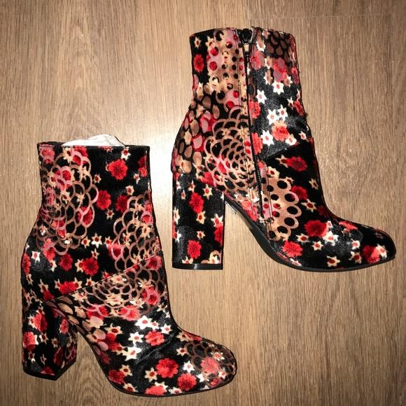 Anne Klein Chelsey Women's Boots Black Size 7.5 M
