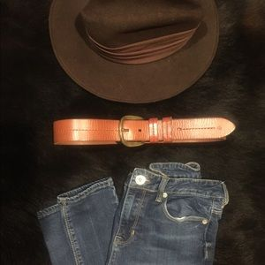 Ralph Lauren Brown Leather Belt
