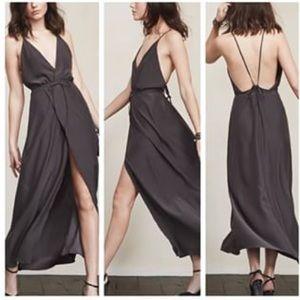 Reformation Clara wrap dress