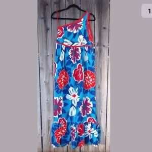 Women's Vintage Oscar De La Renta Maxi Dress S