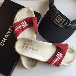 CHANEL Sport Sandals Sz. 39
