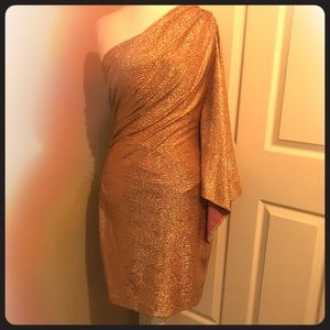 Rose gold Jessica Simpson Party Dress