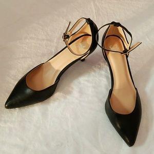 JC Journee Collection 2.5 inch heel black NWOB
