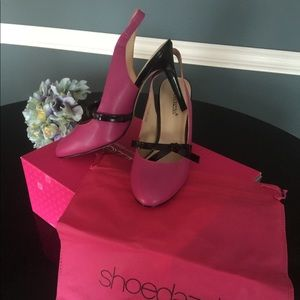 "ShoeDazzle NEW ""Therese"" sling back pumps sz9"
