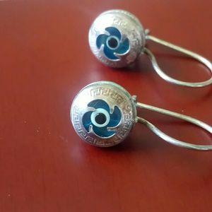 Jewelry - Evil eye 👁🗨 Silver Earrings