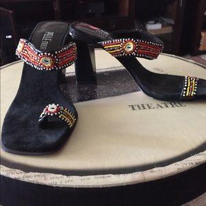 Ladies Shoes Pelli Moda Size 5 Slip on sandals .