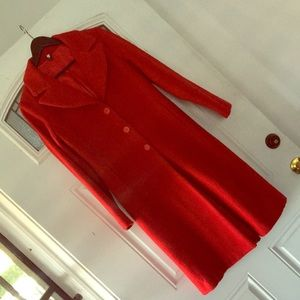 ‼️LIKE NEW‼️ BEAUTIFUL RED COAT!! ❤️