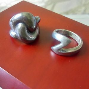Jewelry - Two Silver Rings