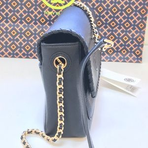 Tory Burch Bags   Marion Combo Mini Crossbody Bag 12159773 Black ... 4e31466d9f