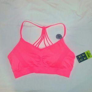 NWT strappy sports bra