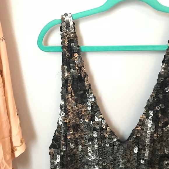 d9a99ada2cb4 Free People Other - Free people fools gold sequin romper