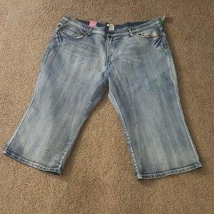 Denim - Plus Size Jean Capris