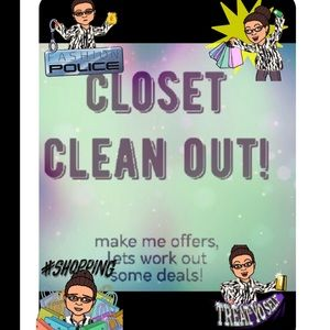 Other - 🛍🛍🛍CLOSET CLEAN OUT SALE🛍🛍🛍