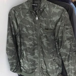 Members Only Camo Bomber Jacket