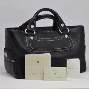 !Almost new! Celine Calfskin Leather Tote Shopper
