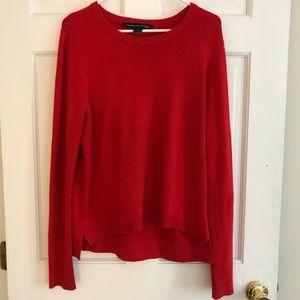 NWOT - French Connection Red Sweater