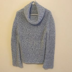 Light Blue Turtleneck Sweater