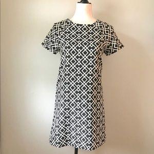 •ZARA•Geometric Mod Shift Dress