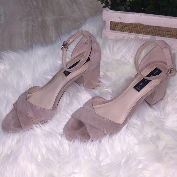 b13262a1743 Steve Madden Voomme Block Heel. M 5a2c30dfc284560536017f79. Other Shoes ...