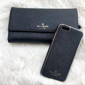 HP • Kate Spade Wallet & iPhone Case •