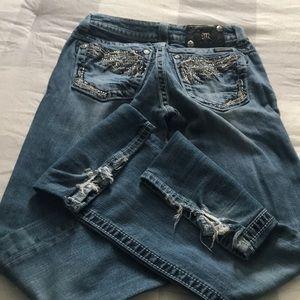 Boot cut Miss me jeans