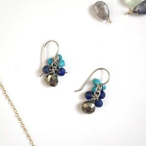 Jewelry - coastal - mini drops (blue)