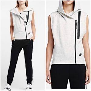 Nike Tech Fleece Vest Heathered Gray