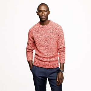 J. Crew - Marled wool alpaca crewneck sweater