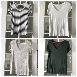 Bundle of Four Merona T-shirts