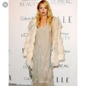 Rachel Zoe faux fur coat, never worn