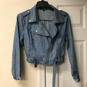 Forever 21 Chambray Jacket
