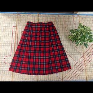 Vintage Pendleton kilt size 10