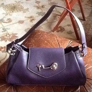 Handbags - 16x 9 11 inch drop  purple vegan leather large bag