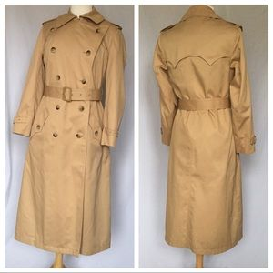 Vintage 1970s Tan Trench Coach