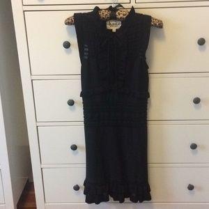 For Love & Lemons knit little black dress