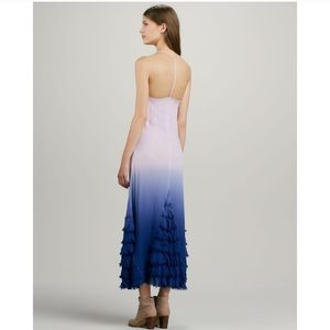 Free people dip dye lavender maxi dress NWT