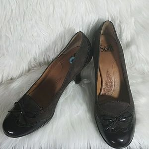 Sofft Brown Capped Heels