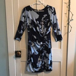 Mid sleeve formal dress