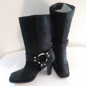 Michael Kords Black Heel Boots