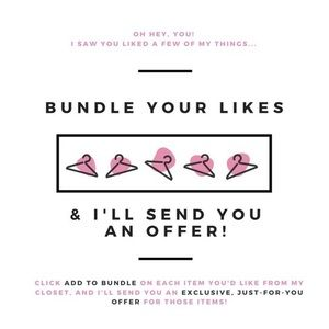 Other - Bundle for a Private Discount!!