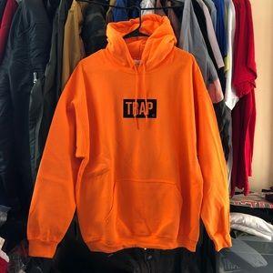 Trap Bogo Hoodie - Neon Orange