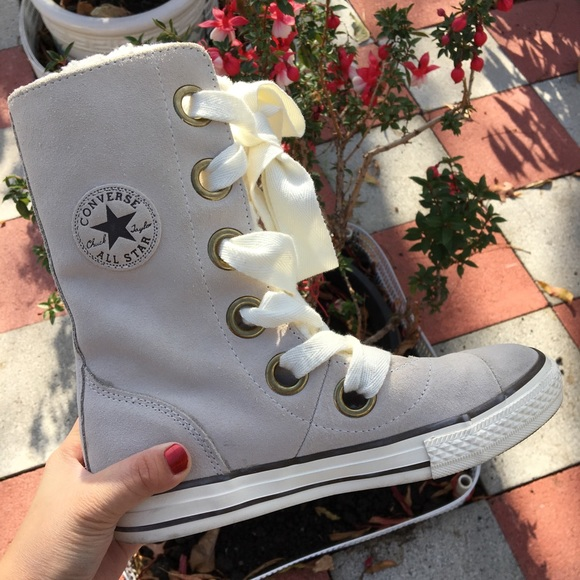 Chuck Taylor All Star Beverly Boot Lace Cream
