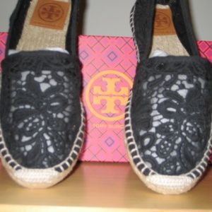 "Tory Burch Lace Espadrilles ""Abbe"""