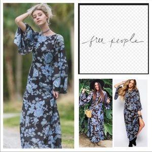 Free People maxi dress.
