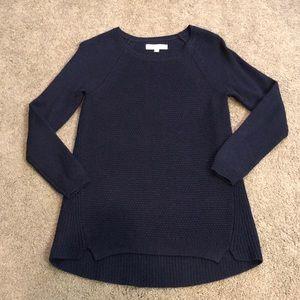 LOFT Navy Sweater Size Medium