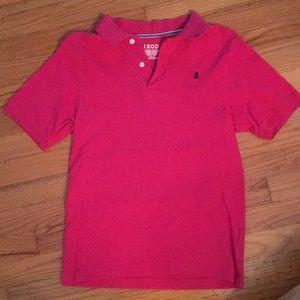 Izod polo shirt luxury sport pink short sleeve