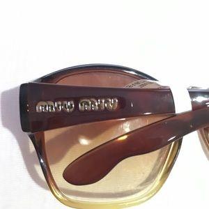 Miu Miu authentic sunglasses
