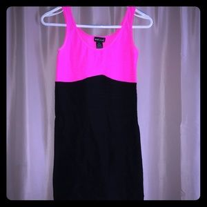 Hot Pink Bodycon Dress LBD