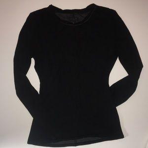 Rag and bone soft long sleeved black shirt M L