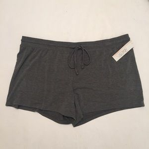 NWT Gilligan & O'Malley Gray Sleepwear Shorts XXL